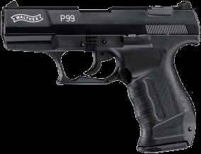 Gaswaffe Pistole Walther P99 brüniert Waffenstube Thalkirchen München Bayern Deutschland