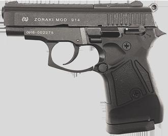 Gaswaffe Pistole ZORAKI MOD 914 schwarz Waffenstube Thalkirchen München Bayern Deutschland