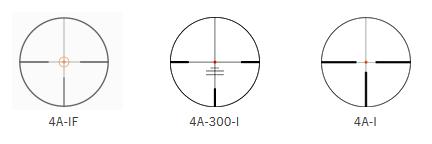 Absehen 4A-IF, 4A-300-I und 4A-I Zielfernrohr Swarovski Z8i 1,7-13,3x42 P L Waffenstube Thalkirchen München Bayern Deutschland