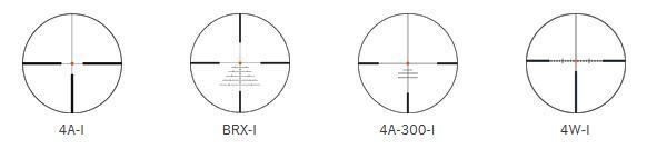 Absehen 4A-I, 4W-I, 4A-300-I und BRX-I Zielfernrohr Swarovski Z8i 2,3-18×56 P L Waffenstube Thalkirchen München Bayern Deutschland