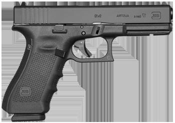 Kurzwaffe Pistole Glock 17 Gen 4 Waffenstube Thalkirchen München Bayern Deutschland