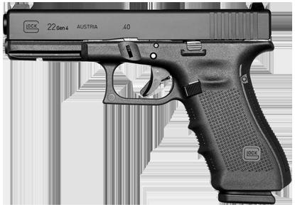 Kurzwaffe Pistole Glock 22 Gen 4 Waffenstube Thalkirchen München Bayern Deutschland
