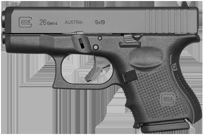 Kurzwaffe Pistole Glock 26 Gen 4 Waffenstube Thalkirchen München Bayern Deutschland