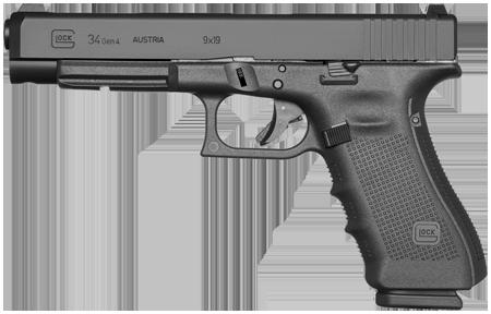 Kurzwaffe Pistole Glock 34 Gen 4 Waffenstube Thalkirchen München Bayern Deutschland