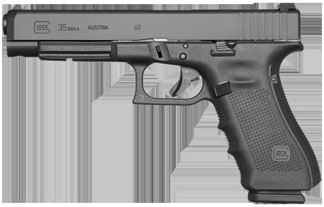 Kurzwaffe Pistole Glock 35 Gen 4 Waffenstube Thalkirchen München Bayern Deutschland