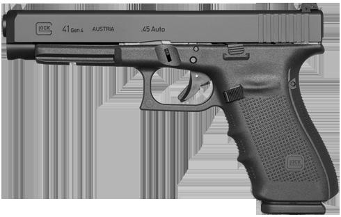 Kurzwaffe Pistole Glock 41 Gen 4 Waffenstube Thalkirchen München Bayern Deutschland