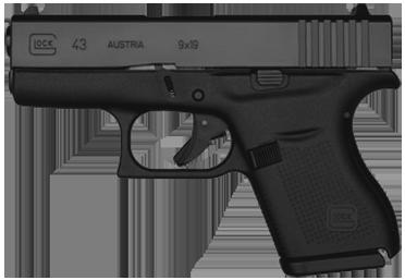 Kurzwaffe Pistole Glock 43 Waffenstube Thalkirchen München Bayern Deutschland