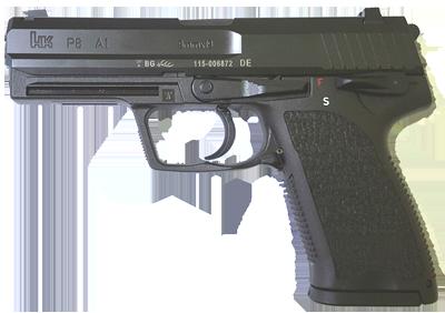 Kurzwaffe Pistole Heckler & Koch P8 A1 Waffenstube Thalkirchen München Bayern Deutschland