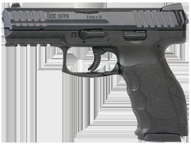 Kurzwaffe Pistole Heckler & Koch SFP 9 Waffenstube Thalkirchen München Bayern Deutschland