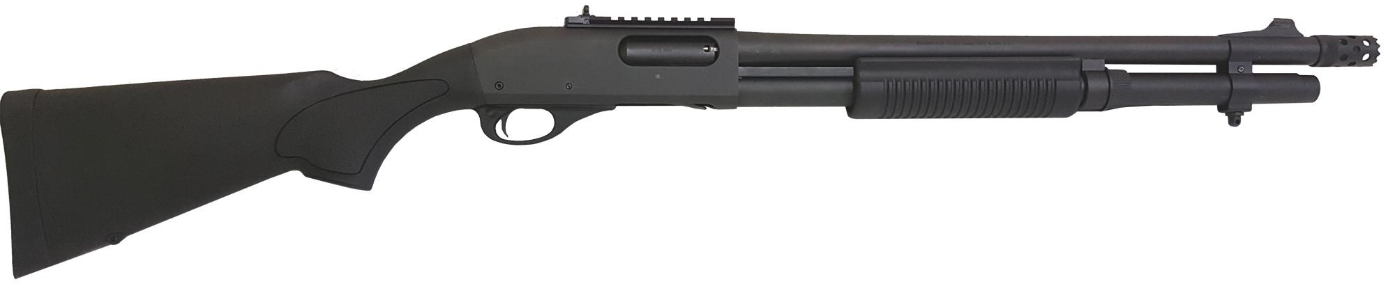 Remington Vorderschaft-Repetierflinte 870 Express Tactical mit Ghost Ring 12/76 Waffenstube Thalkirchen München Bayern Deutschland