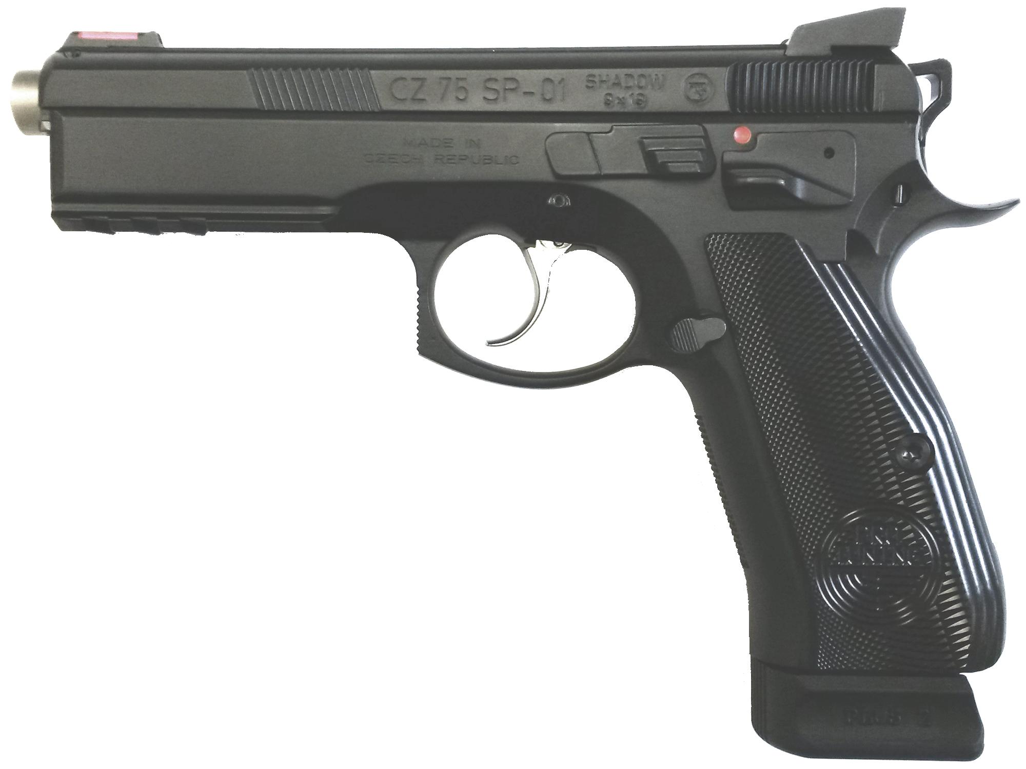 Kurzwaffe Pistole CZ 75 SP 01 Shadow Mamba Waffenstube Thalkirchen München Bayern Deutschland