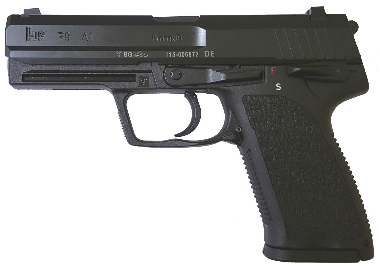 Pistole Heckler & Koch P8 A1 Waffenstube Thalkirchen München Bayern Deutschland