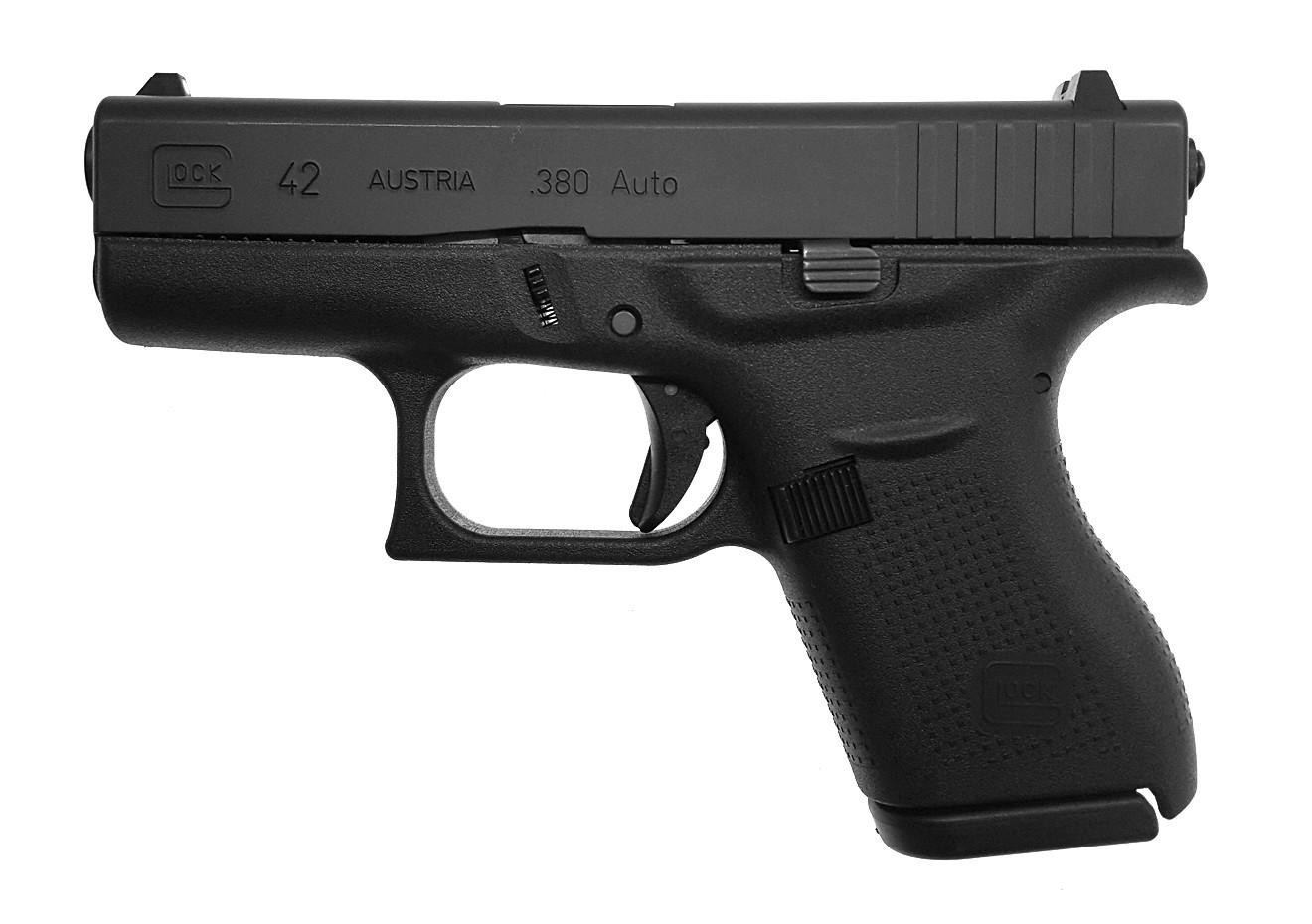 gebrauchte Pistole Glock 42 .380 Auto Waffenstube Thalkirchen München Bayern Deutschland