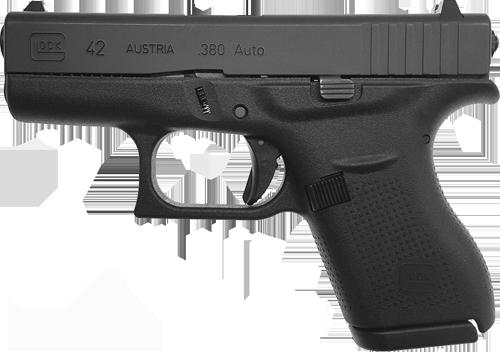 Gebrauchte Sportwaffe Kurzwaffe Pistole Glock 42 .380 Auto Waffenstube Thalkirchen München Bayern Deutschland