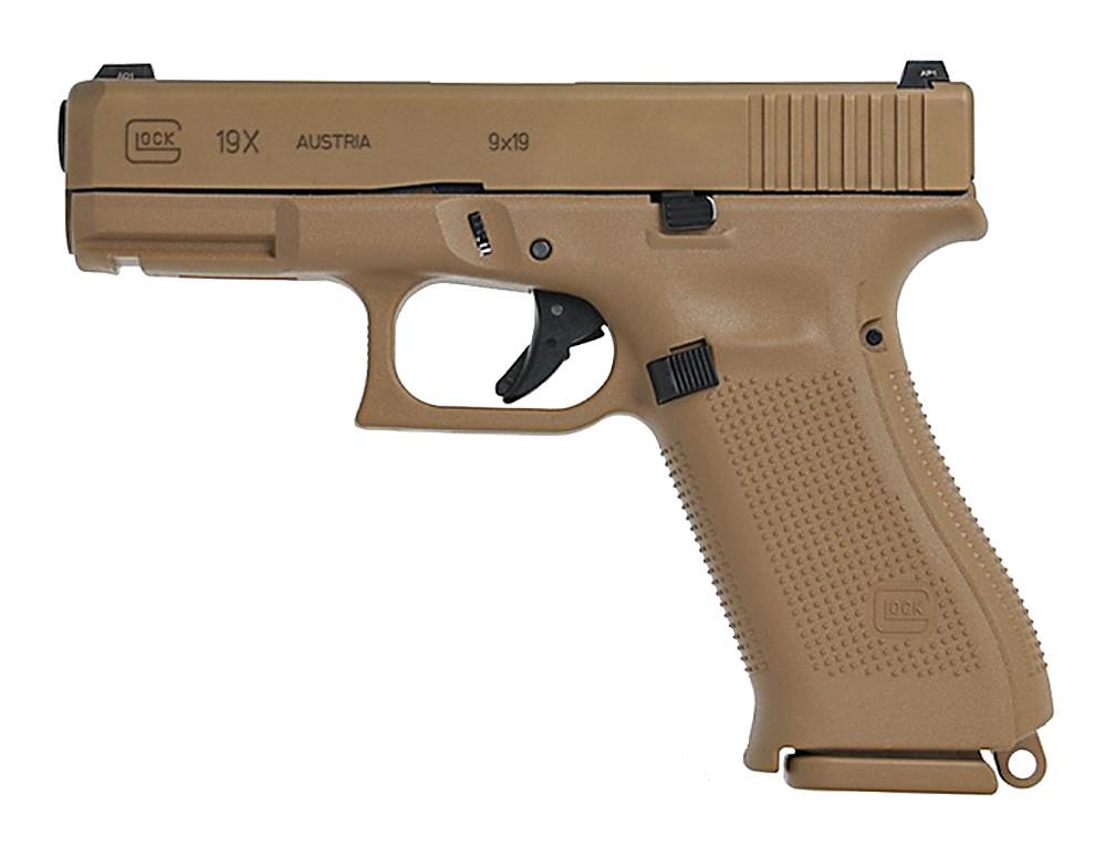 Pistole Glock 19X Coyote 9 mm Luger Waffenstube Thalkirchen München Bayern Deutschland