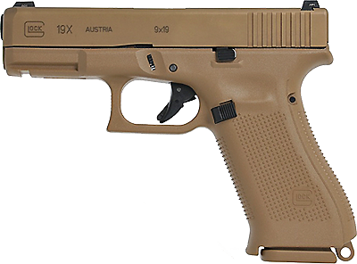 Kurzwaffe Pistole Glock 17 Gen 4 M.O.S. mit Gewindelauf M13,5x1 Linksgewinde Waffenstube Thalkirchen München Bayern Deutschland