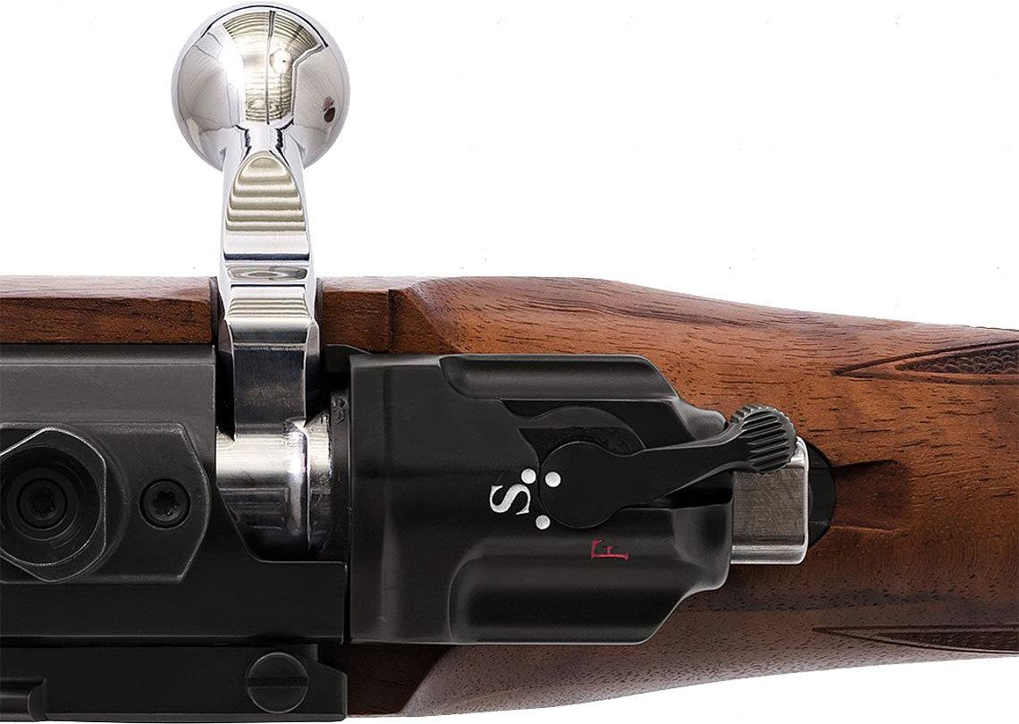3-Stellungs-Sicherung Mauser M 98 Diplomat Waffenstube Thalkirchen München Bayern Deutschland