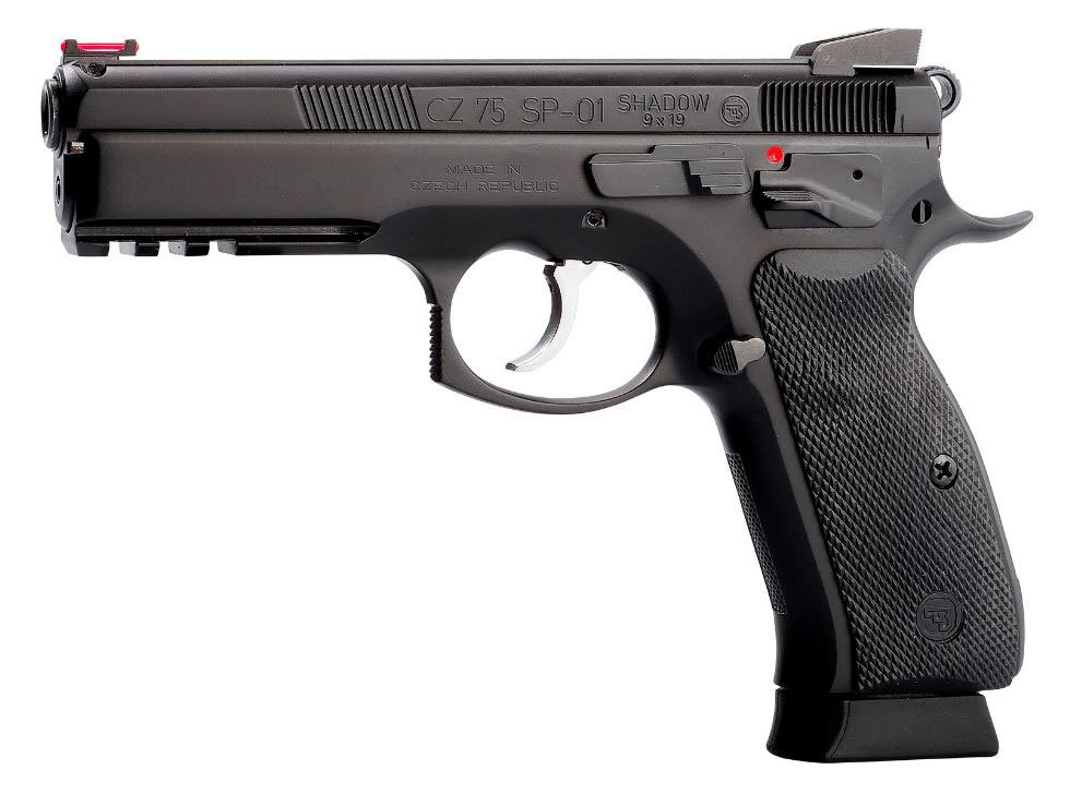 Pistole CZ 75 SP 01 Shadow Mamba Waffenstube Thalkirchen München Bayern Deutschland