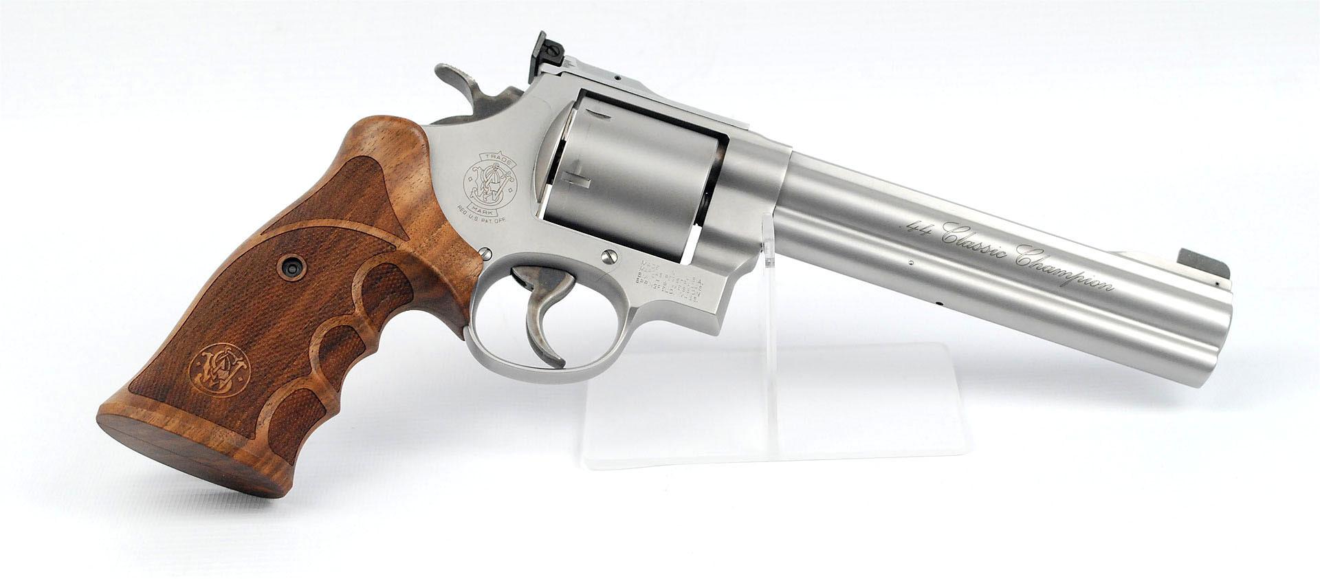 Revolver S&W Mod. 629 Classic Champion STL matt 6,5 Zoll .44 Mag. Waffenstube Thalkirchen München Bayern Deutschland