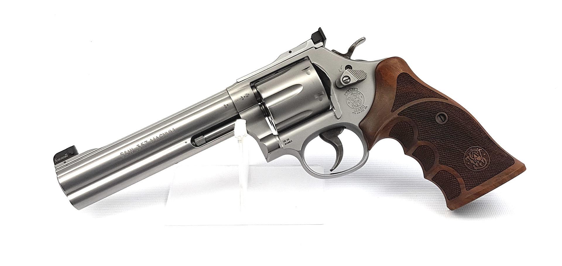Revolver S&W 686 Match Master STL matt 6 Zoll .357 Mag. Waffenstube Thalkirchen München Bayern Deutschland