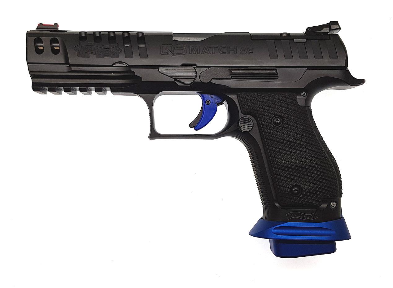 Pistole Walther Q5 Match SF Champion 9 mm Luger Waffenstube Thalkirchen München Bayern Deutschland
