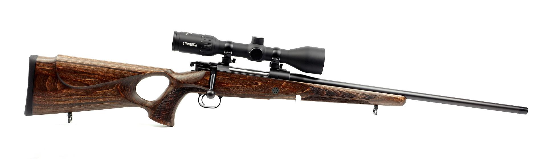 Mauser M12 Max .308 Win. mit Handspannung, Lauflänge 56cm mit MGW M15x1 Waffenstube Thalkirchen München Bayern Deutschland