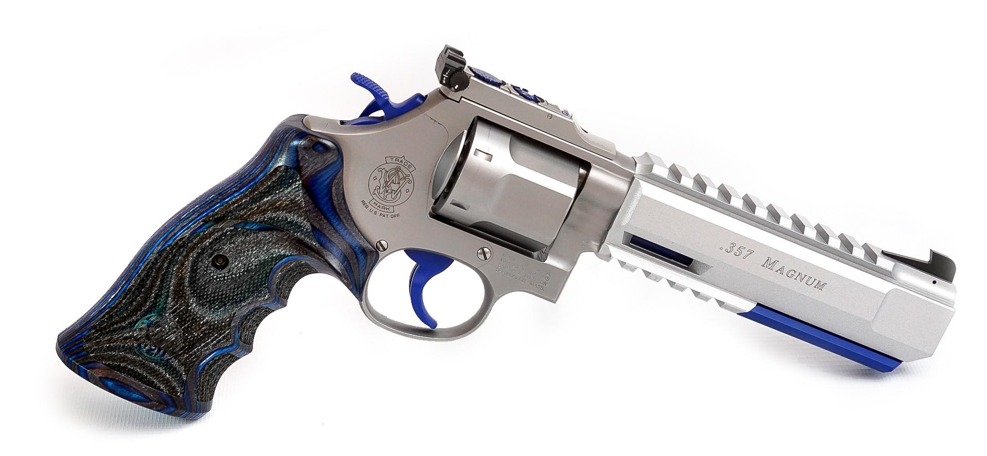 Revolver S&W 686 Target Champion X Limited 6 Zoll .357 Mag. Waffenstube Thalkirchen München Bayern Deutschland