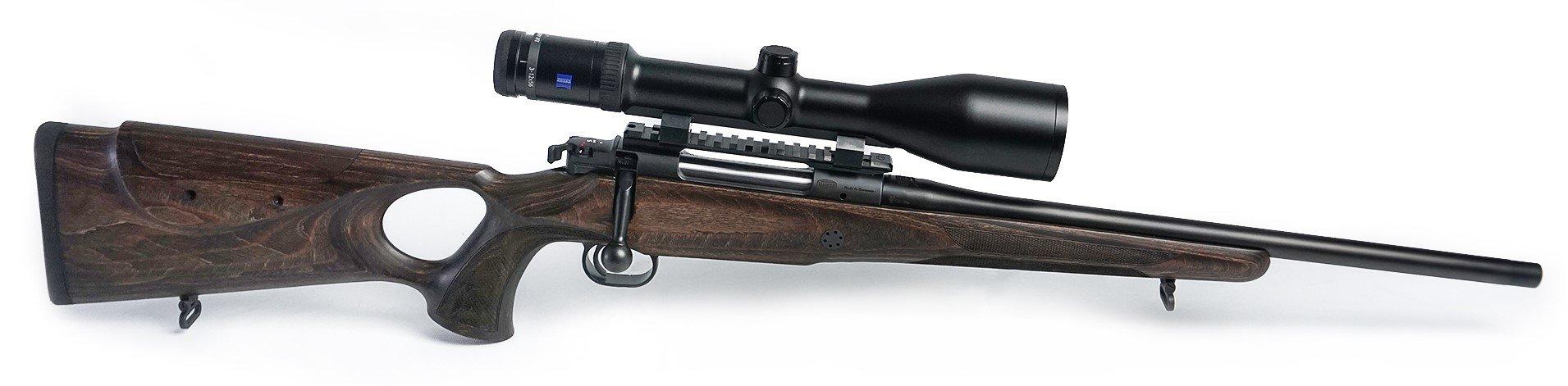 Komplettangebot Mauser M12 Max AS (höhenverstellbarer Schaftrücken) .308 Win. mit Handspannung Lauflänge 47 cm mit MGW M15x1 Waffenstube Thalkirchen München Bayern Deutschland